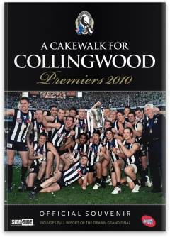 2010 Afl Premiers Magazine A Cakewalk For Collingwood