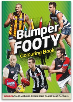 Afl Bumper Colouring Book The Slattery Media Group Store